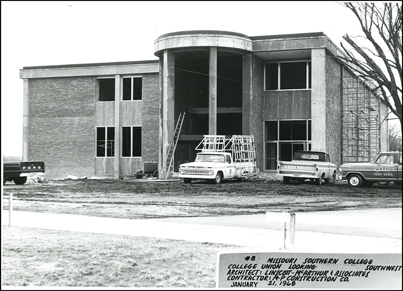 1968 - Construction Of College Union