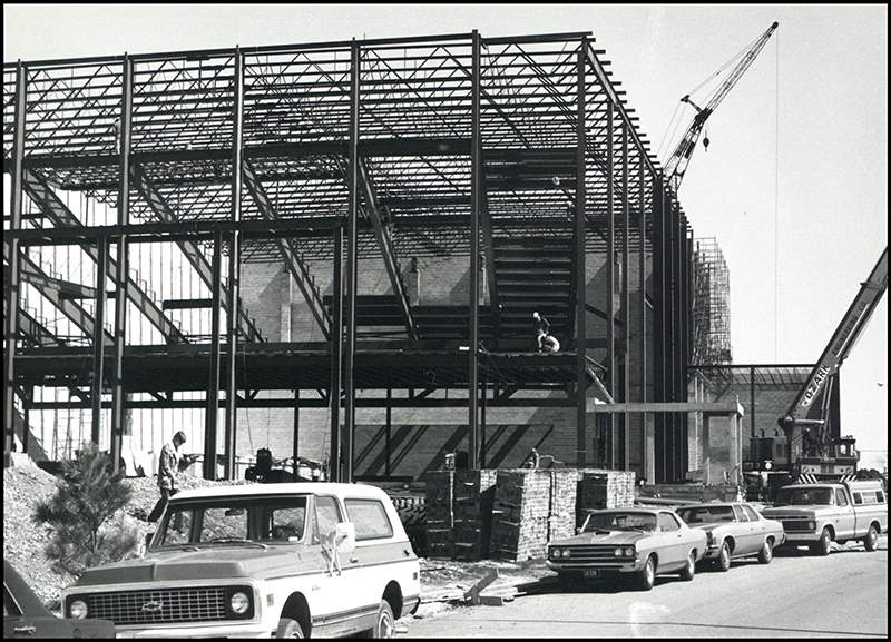 1975 - Taylor Performing Arts Center Construction