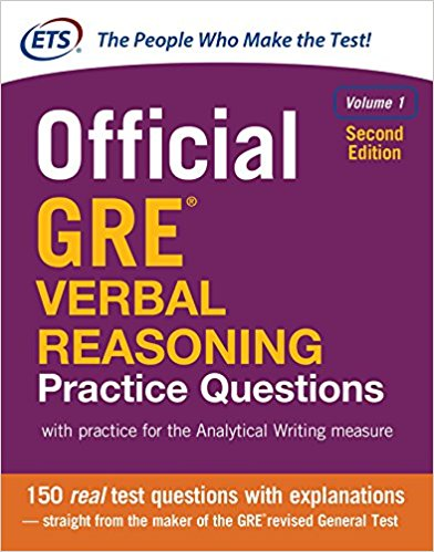 Official GRE Verbal Reasoning practice questions. Volume 1