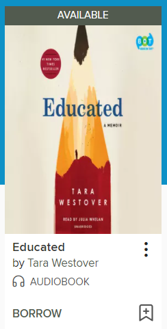 Educated audiobook