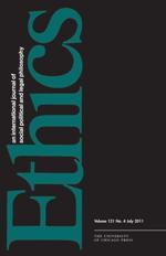 Ethics journal cover