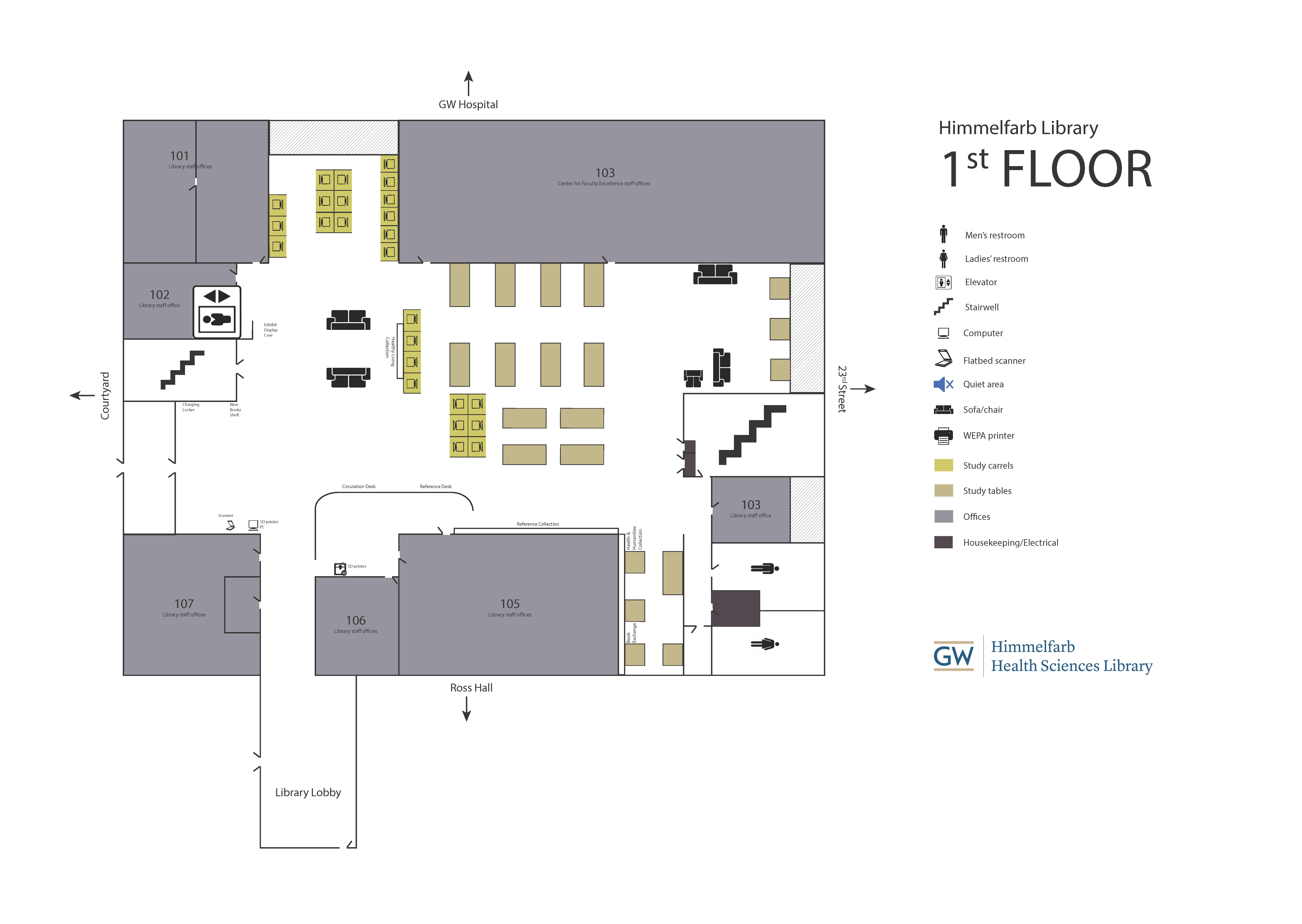 Himmelfarb Library 1st Floor