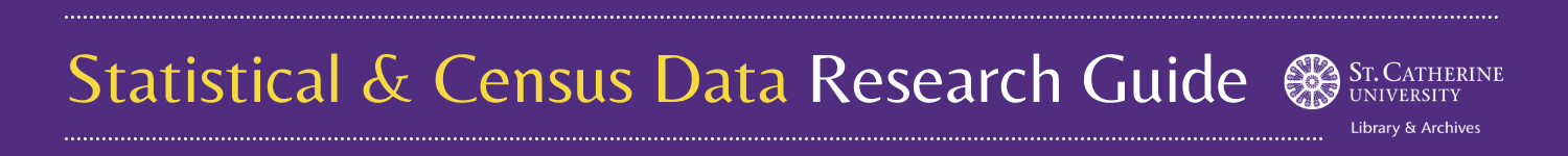 Statistical & Census Data Research Guide