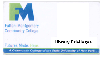Community borrowers card with library privileges
