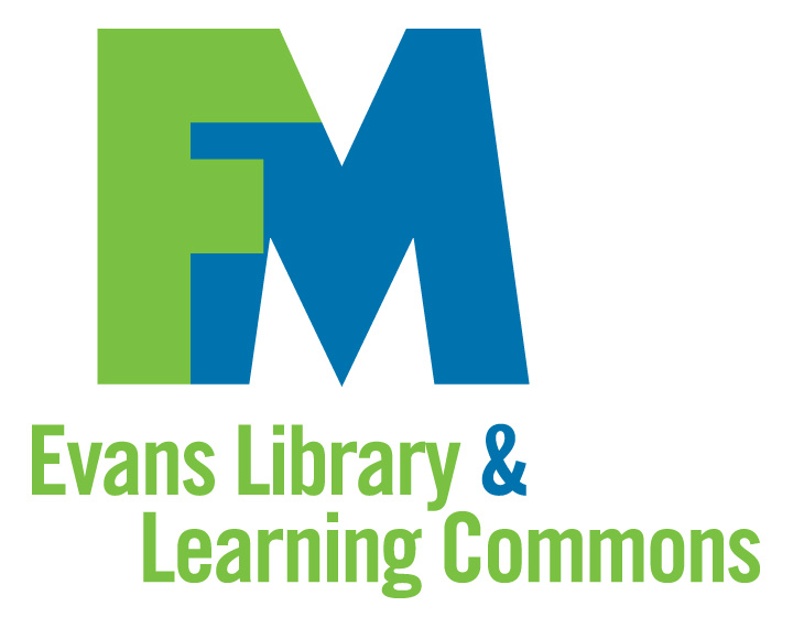 Click to access Evans Library main page
