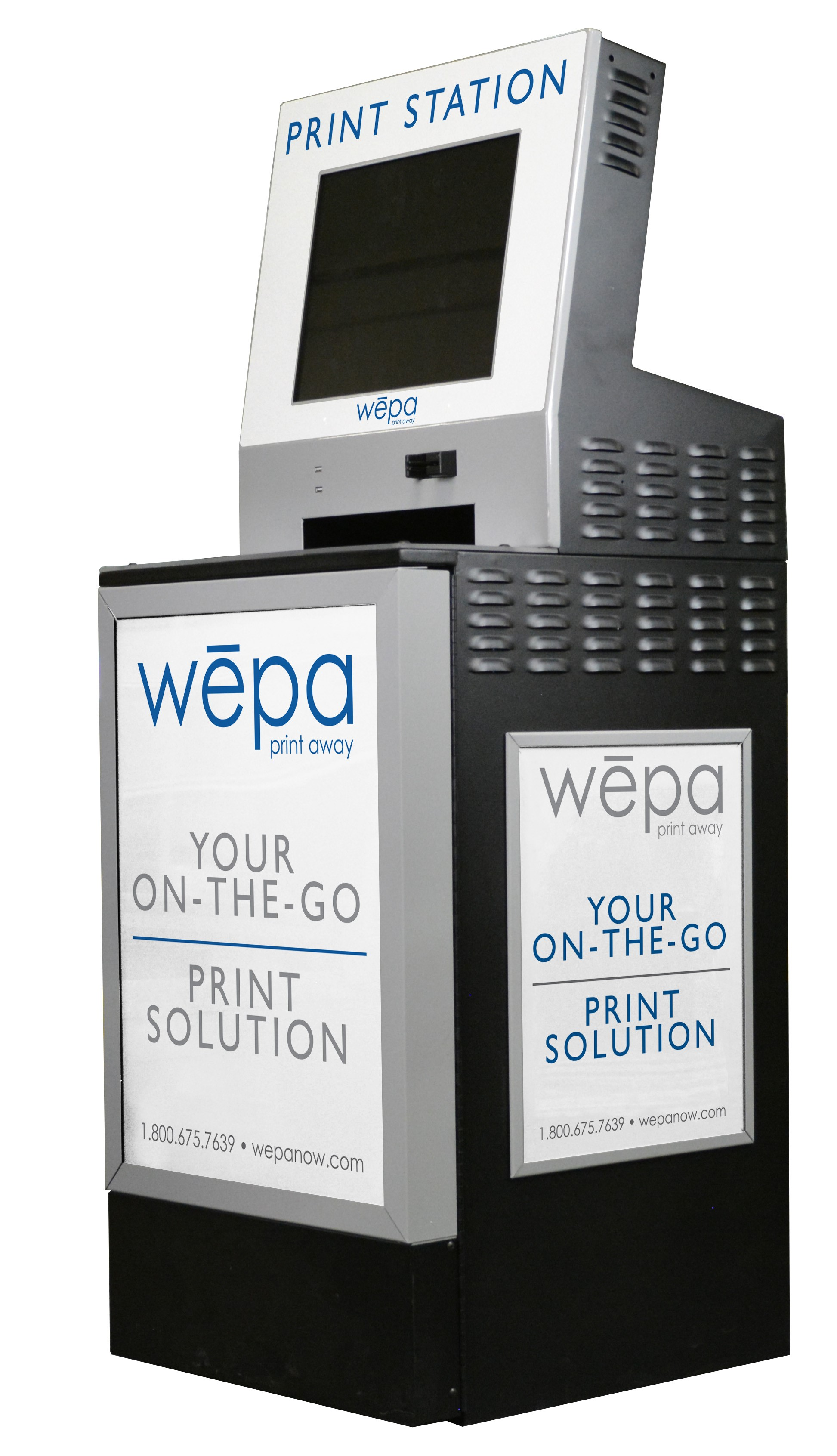 WEPA Printing in the Evans Library