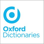 product logo with the word Oxford over the word dictionaries