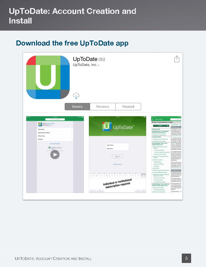 Download UpToDate App - Page 5