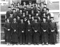 Image of the 1928 graduating class of SWBC.