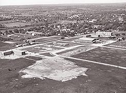 Image of the Shoffner Campus in 1962.