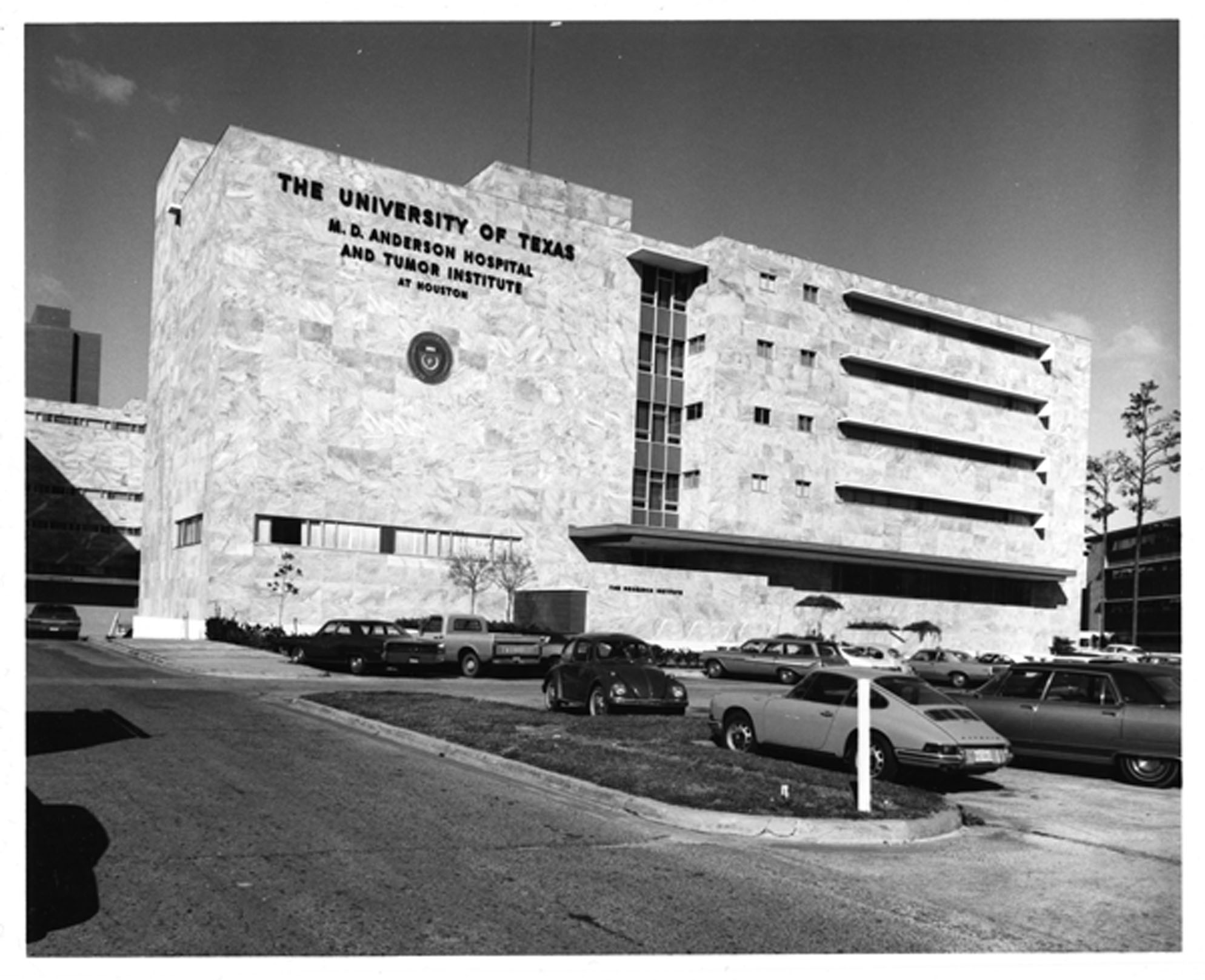 MD Anderson original Main Building