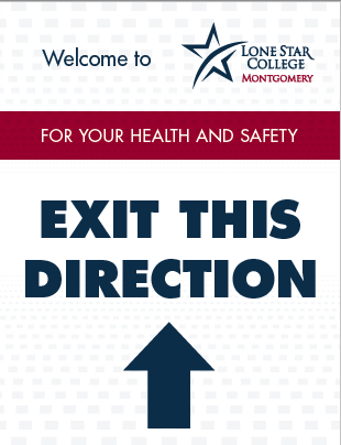 Exit This Direction Sign 8.5x11 (PDF File)