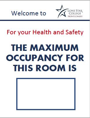 Maximum Room Occupancy Sign 8.5x11 (PDF File)