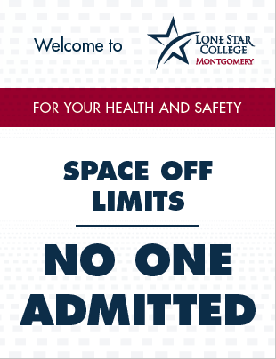 Space Off Limits Sign 8.5x11 (PDF File)