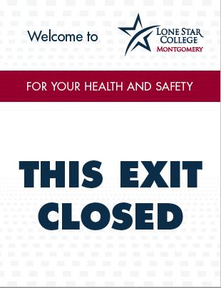 This Exit Closed Sign 8.5x11 (PDF File)