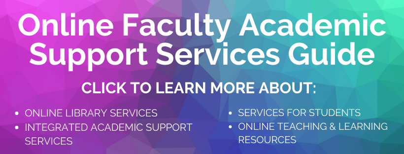 Online Faculty Services