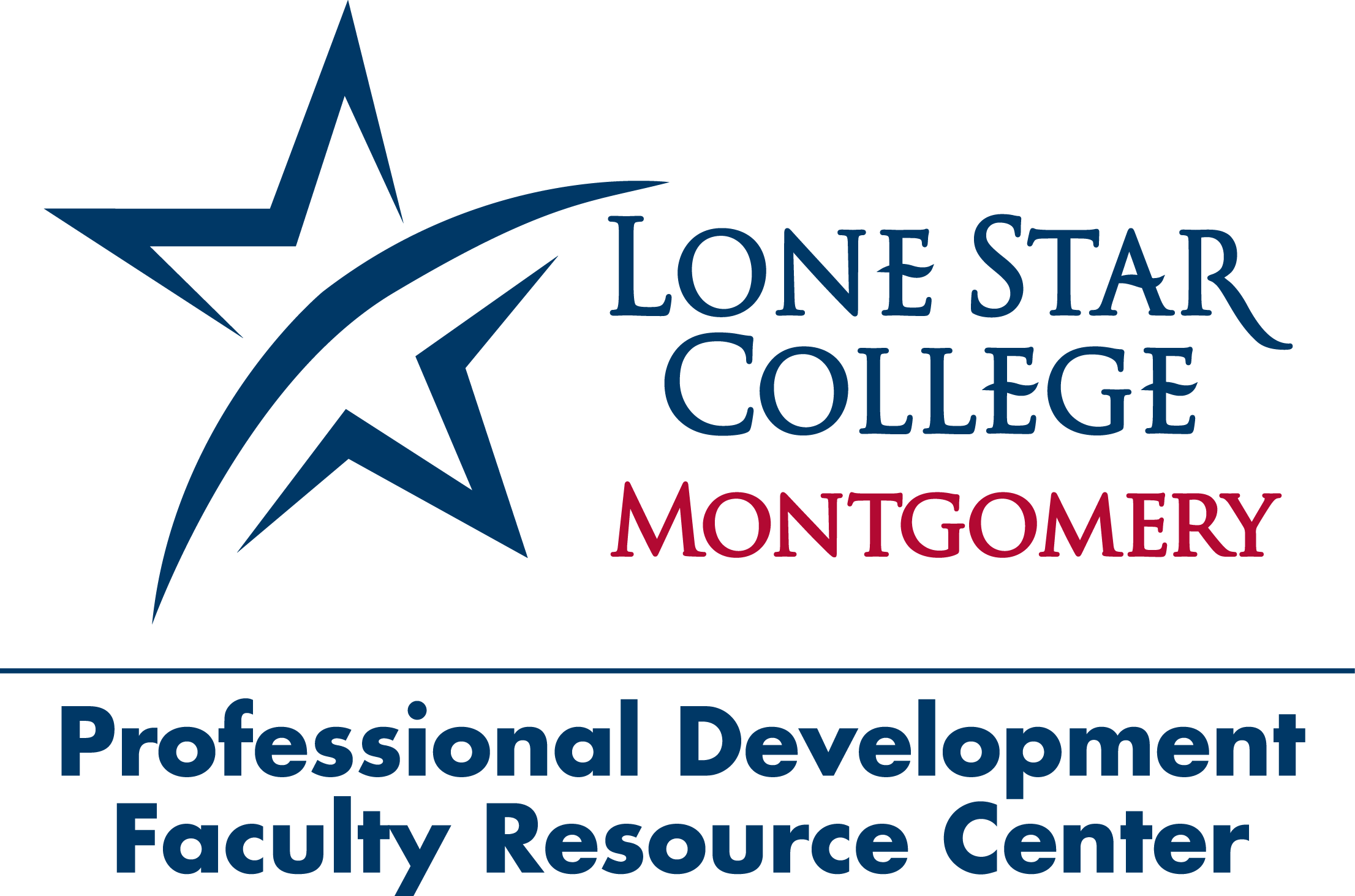 LSC-Montgomery Faculty Resource Center Logo