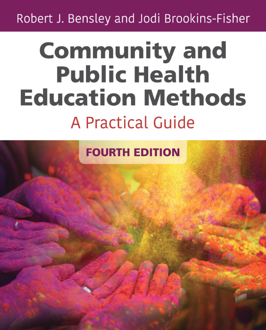 Book Cover of Community and Public Health Education Methods