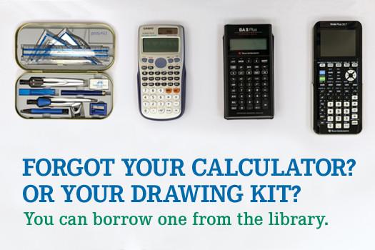 Borrow a calculator!