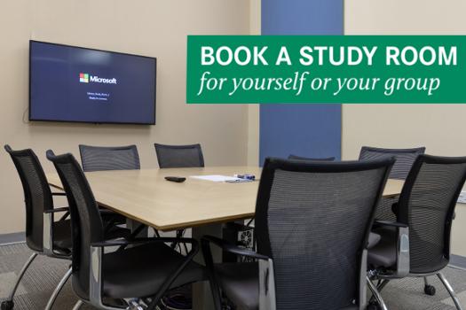 Book a study room!