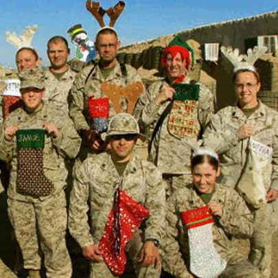Donations for Stocking for Soldiers