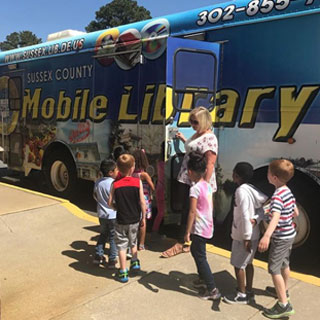 Bookmobile Daycare Program