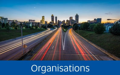 Navigate to Organisations