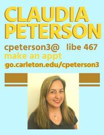 Claudia Peterson