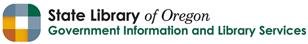 State Library Government Information and Library Services logo
