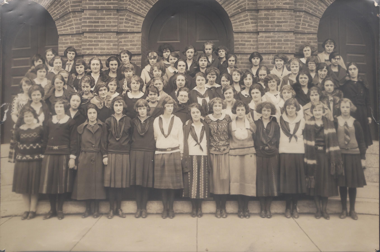 Browning Literary Society, 1923