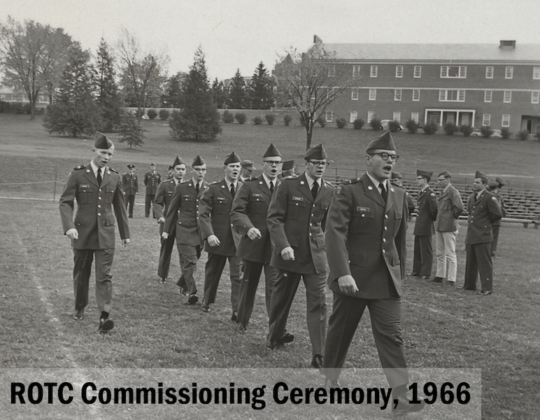 ROTC Commissioning Ceremony, 1966