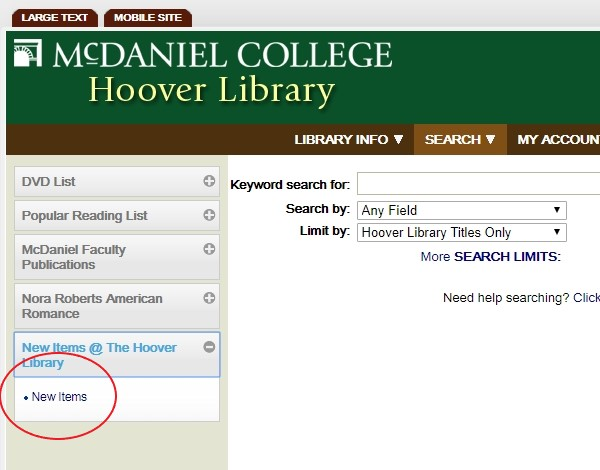 Library catalog capture