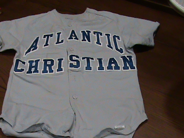 Atlantic Christian College Baseball Jersey