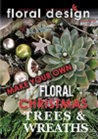 Floral Christmas trees and wreaths