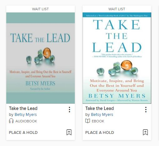 covers of Take the Lead by Myers