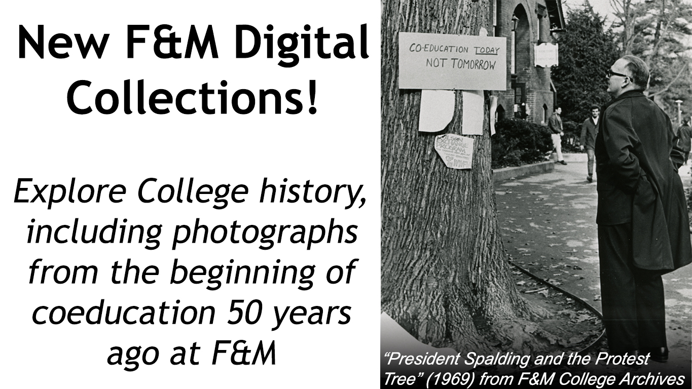 New Digital Collections, Co-Education 50 Years Ago