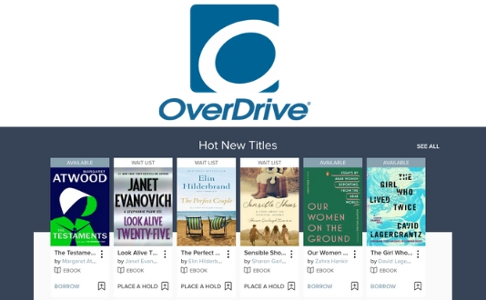 Overdrive for Ebooks