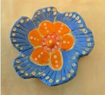 Clay Class: Elena Nuez Flower Dish
