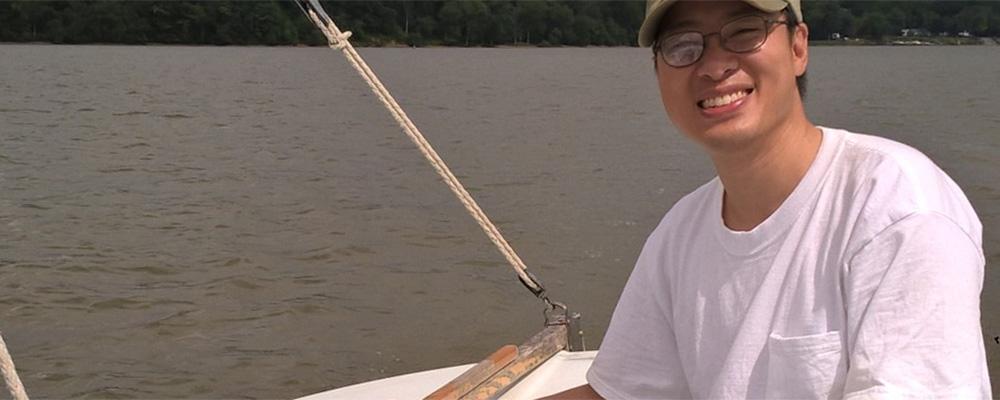 Cuong Nguyen sailing.