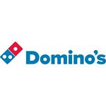 Domino's Pizza logo.