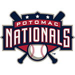 Potomac Nationals logo.