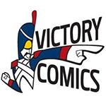 Victory Comics logo.