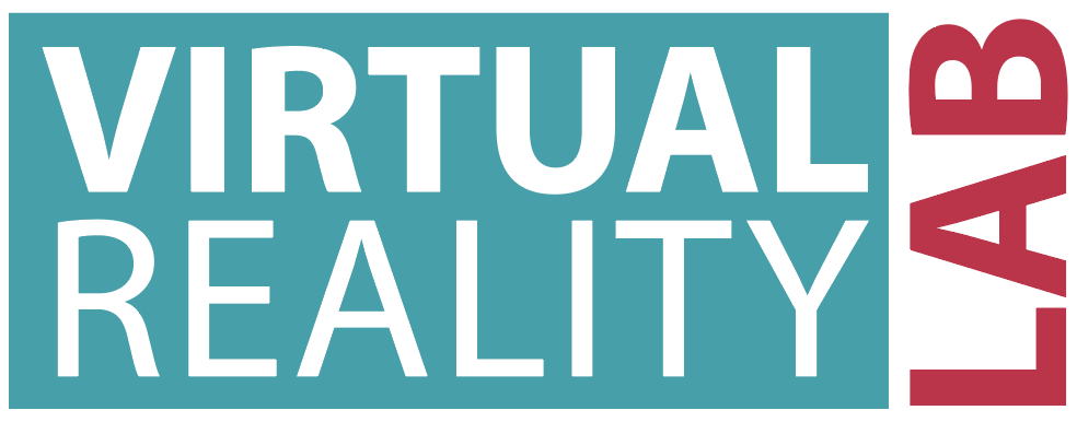 Logo that says Virtual Reality Lab
