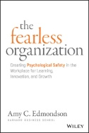 Cover art for The Fearless Organization