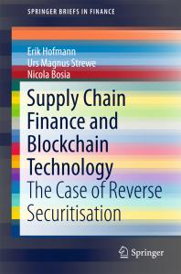 Cover art for Supply Chain Finance and Blockchain Technology
