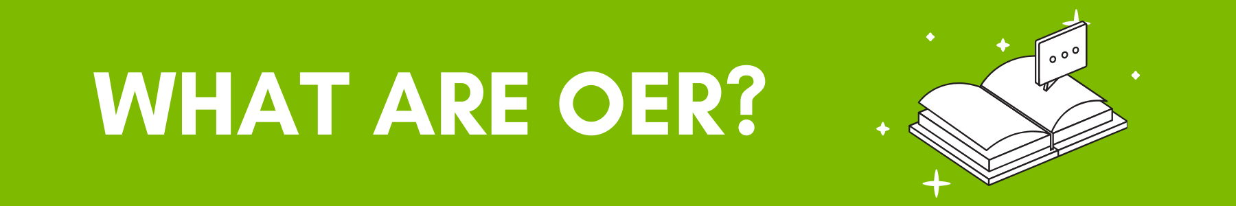 what are oer banner
