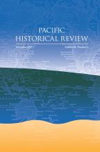 Pacific Historical Review cover art