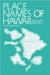Place Names of Hawaii book cover image