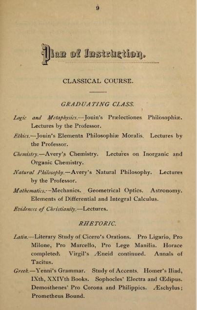 Image of College Catalog 1891 1982