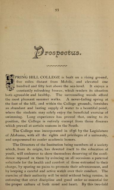 Image of College Catalog 1891 1892 Prospectus
